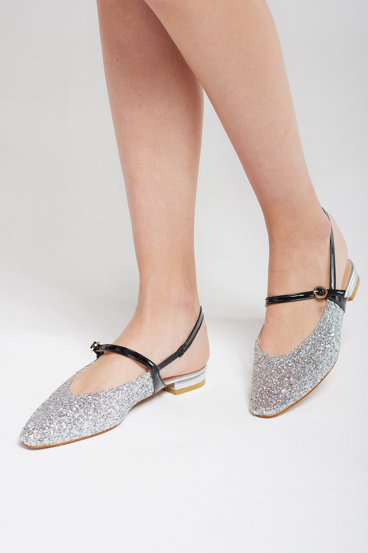 Quinn Sparkly Mary Jane Heels