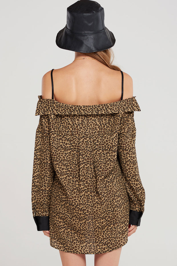 storets.com Kenzie Open Shoulder Blouse