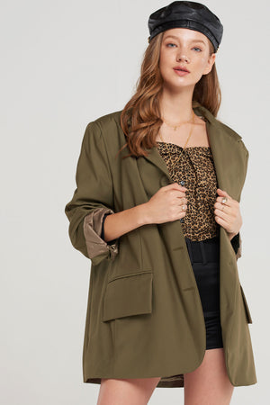 Delilah Statement Collar Jacket