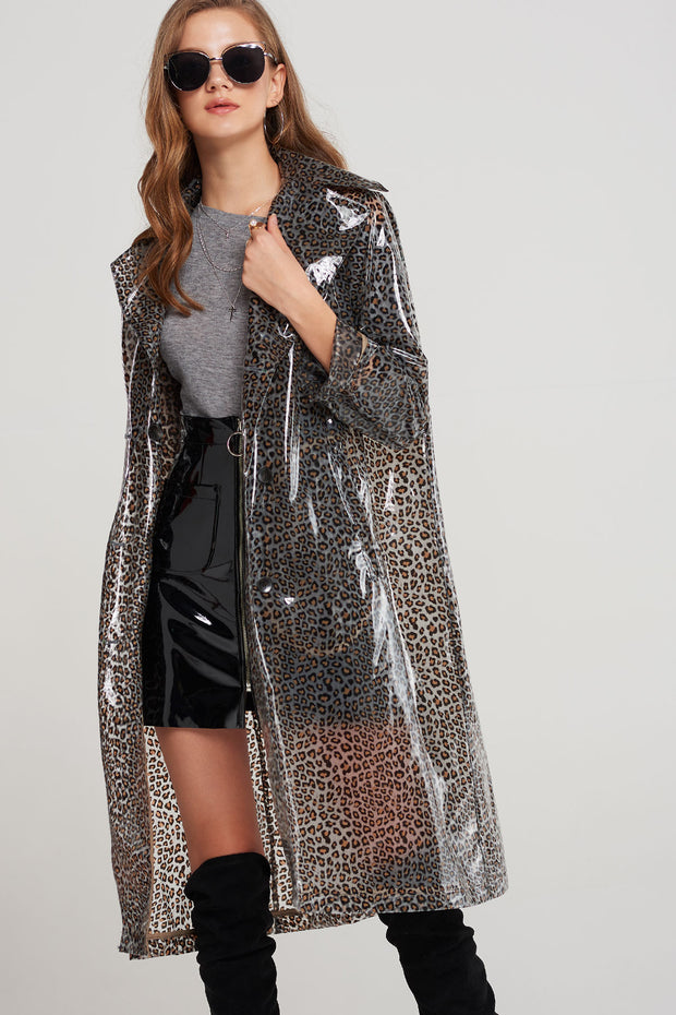 storets.com Ines Double Breasted Raincoat