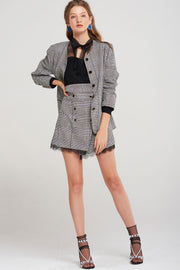storets.com Perry Plaid Boxy Jacket
