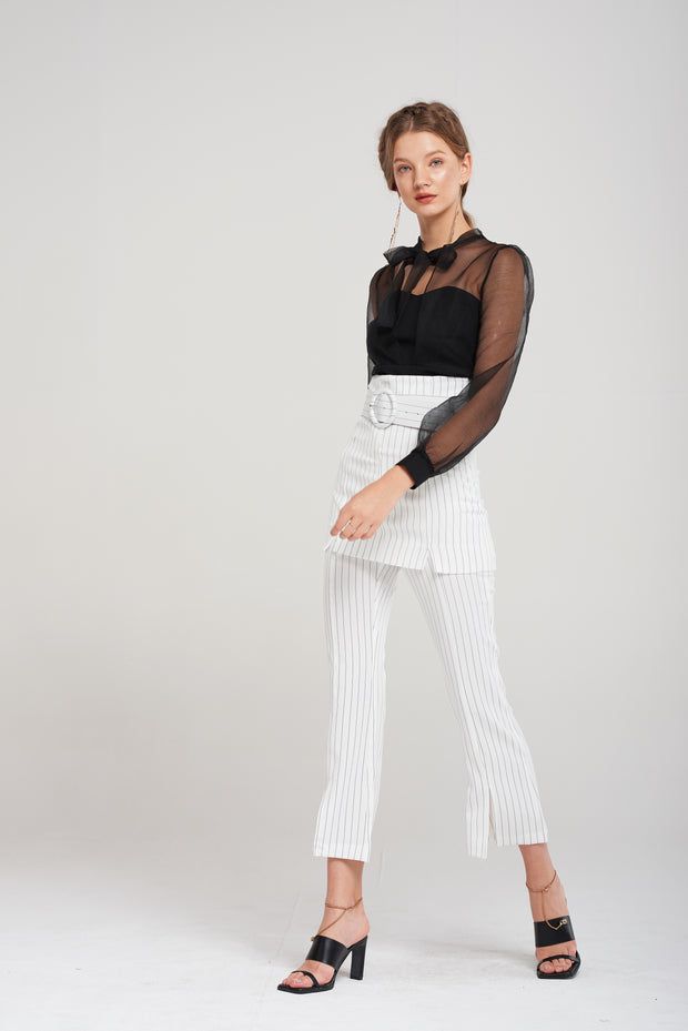 Marta Layered Slacks-2 Colors