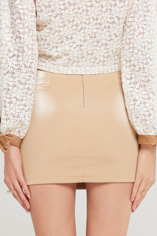 Polly Curved Pocket Skirt-2 Colors