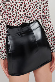 storets.com Polly Curved Pocket Skirt-2 Colors