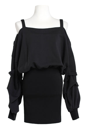 Bertha Cold Shoulder Dress (Pre-Order)