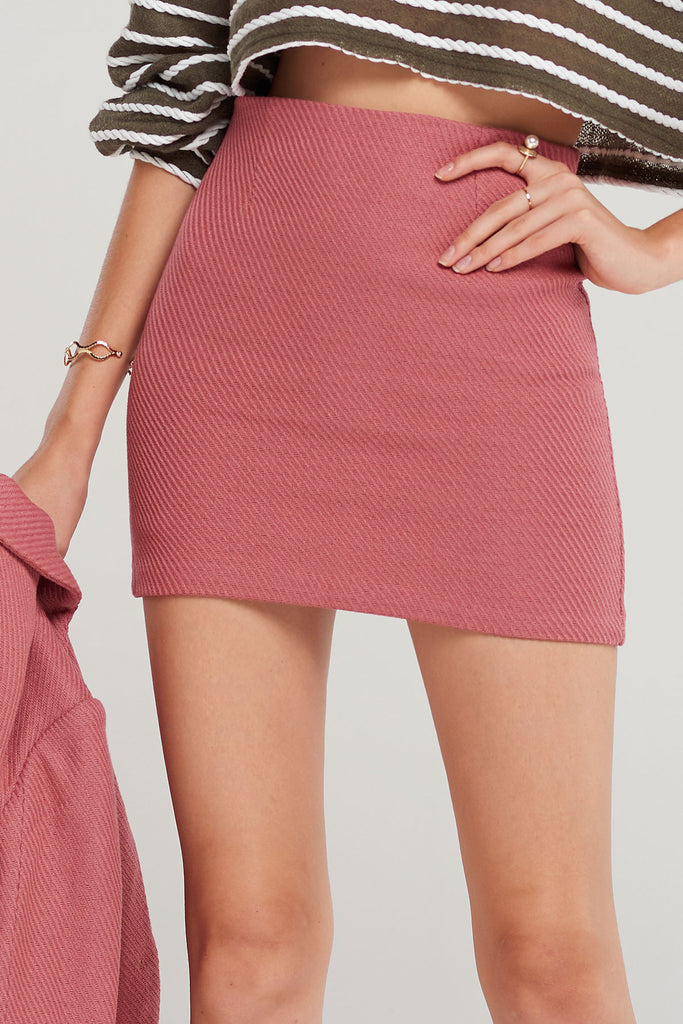Ollie Textured Skirt