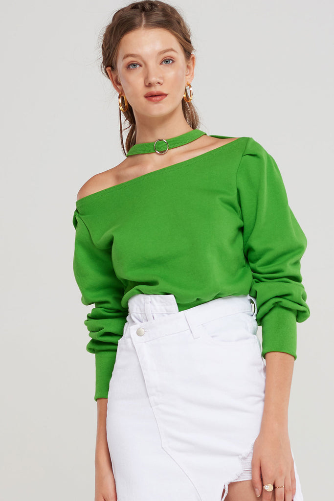 Rima Ring Choker Top-2 Colors