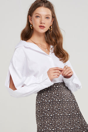 Juliet Open Sleeve Shirt