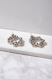 Metallic Wreath Earrings
