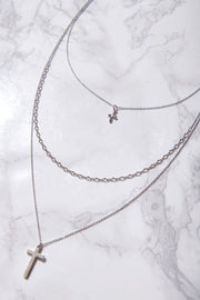 storets.com Layered Cross Necklaces-2 Colors