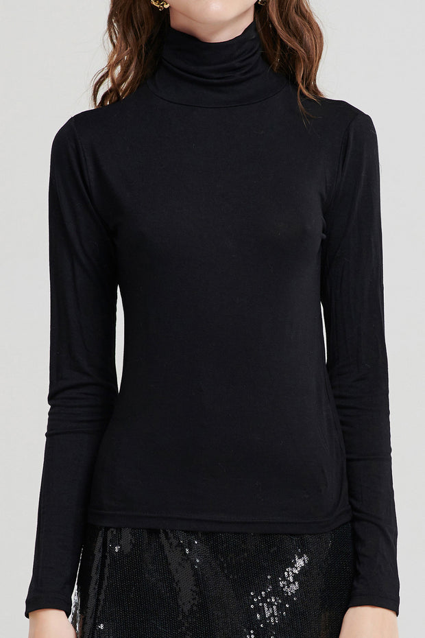 Basic Essential Turtleneck-4 Colors