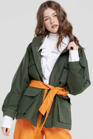Sabine Soft Cargo Jacket