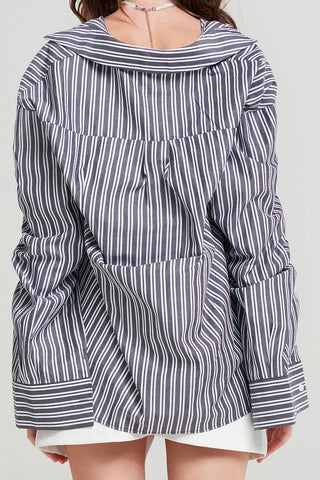 Alice Dual Striped Shirt