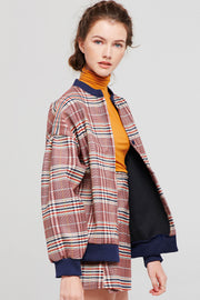 Talia Classic Plaid Jacket