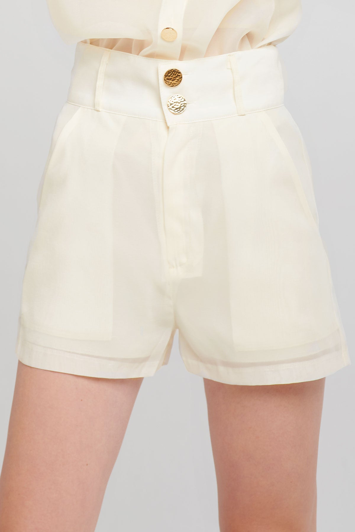 Tori Structured Shorts