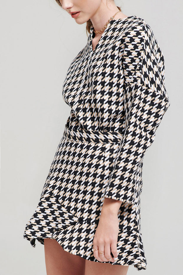 Ulla Houndstooth Set