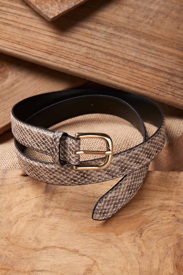 Snake Texture Belt-2 Colors