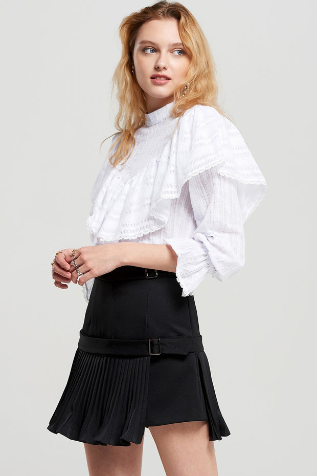 storets.com Jane Pleated Mini Skort