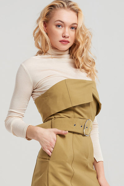 Basic High Turtleneck-2 Colors