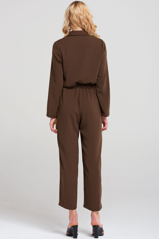 Serena Buttoned Jumpsuit