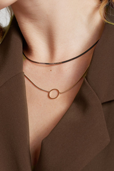 Layered Circle Necklace
