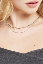 Wavy Layered Necklace
