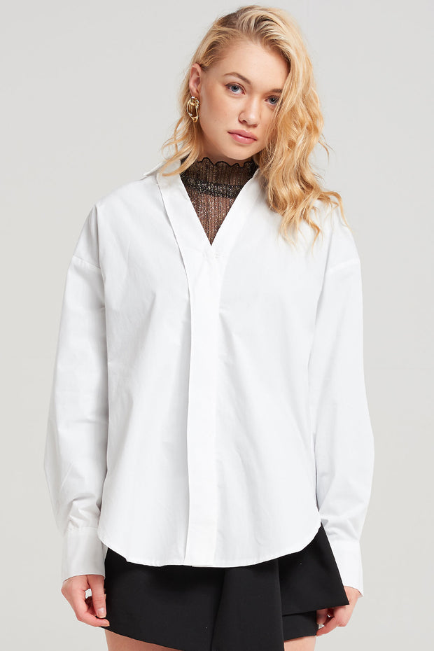 Rowan Simple Collared Shirt