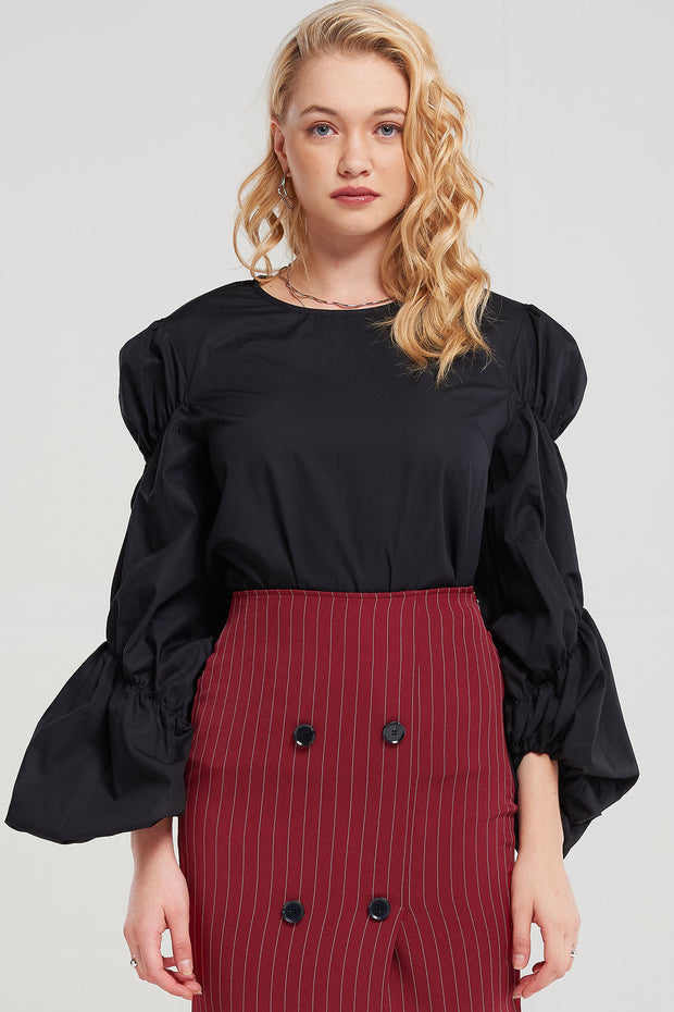 storets.com Perrie Shirred Blouse