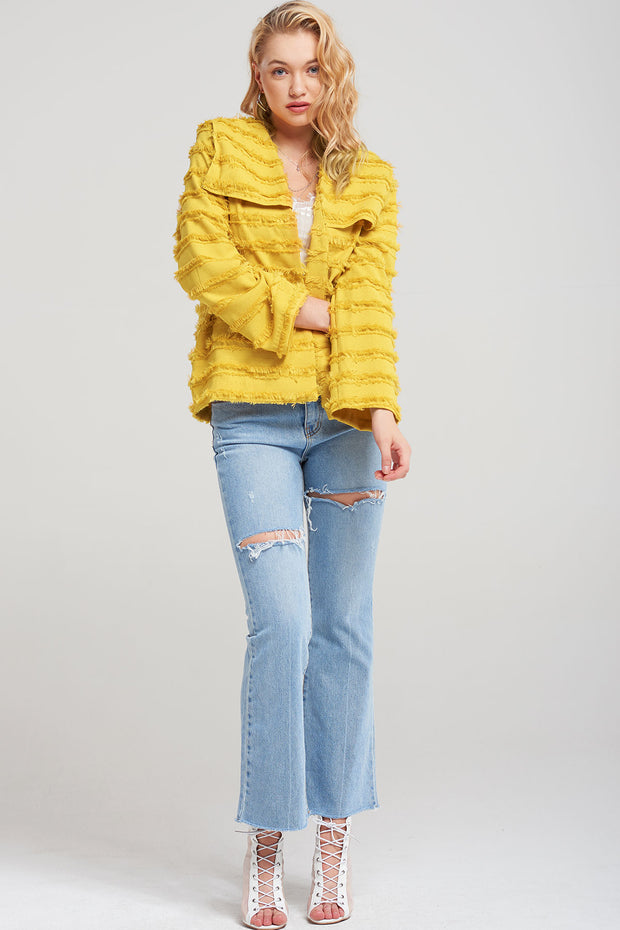 Ophelia Fringed Sailor Jacket
