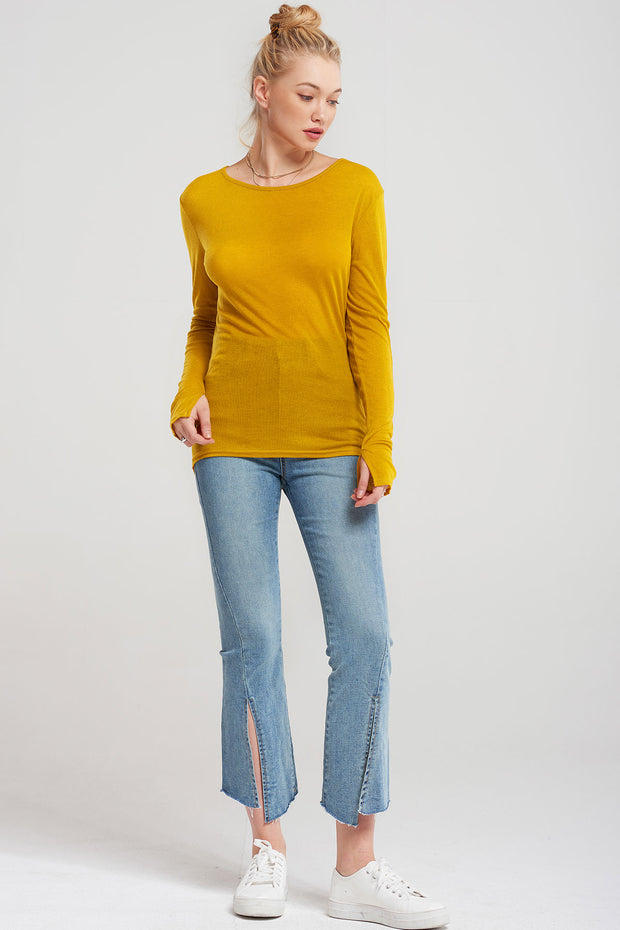 Basic Thin Longsleeve-3 Colors