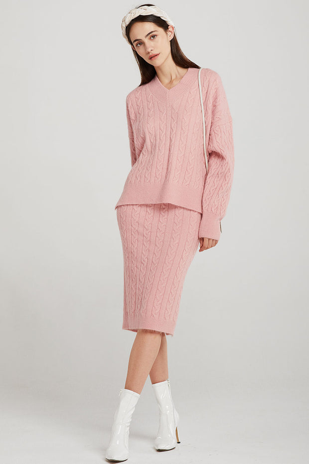 storets.com Nova Cable-Knit 2-Piece Set