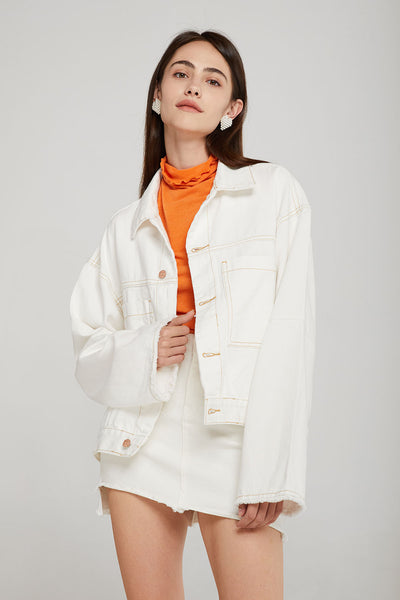 storets.com Piper Oversized Denim Jacket
