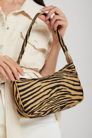 Zebra Clutch Handbag