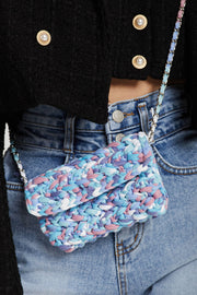 Itty Bitty Tweed Clutch