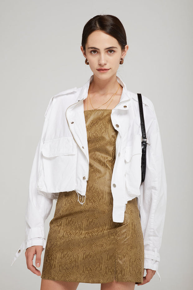 Hailey Cropped Safari Jacket