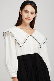 Reese Puritan Collar Blouse