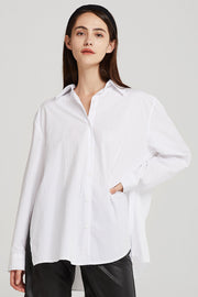 Adalyn Pleats Back Shirt
