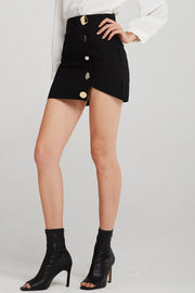 storets.com Mya Jewel Button Skirt