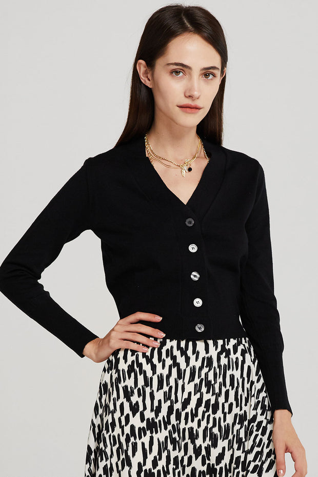 Taylor Slim Fit Button Down Cardigan
