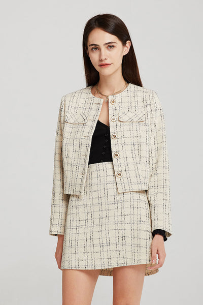 Alexa Tweed Jacket