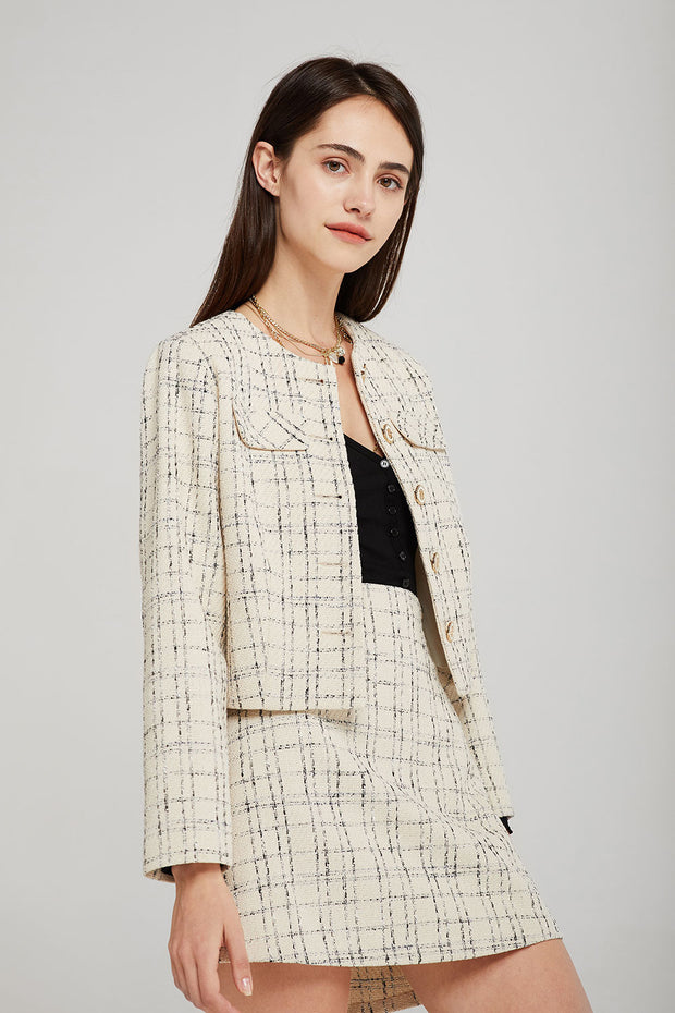 storets.com Alexa Tweed Jacket