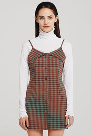 storets.com Allison Cami Dress in Check