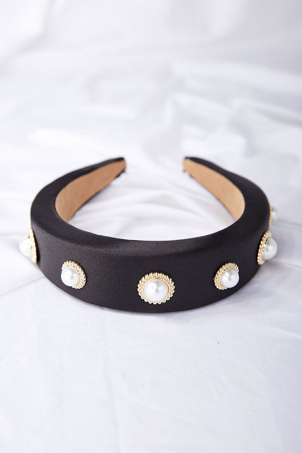 Jeweled Pearl Headband