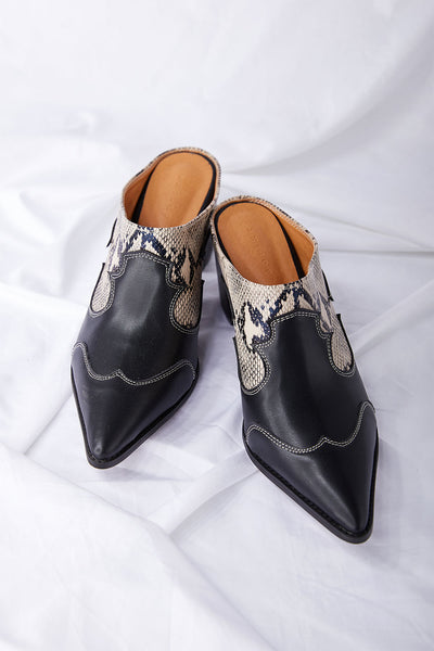 storets.com Western Heeled Mules