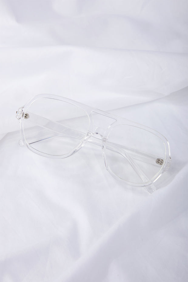 Clear Frame Glasses