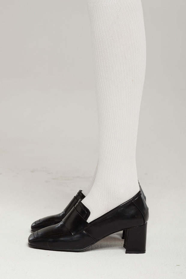 Mid-heeled Loafers