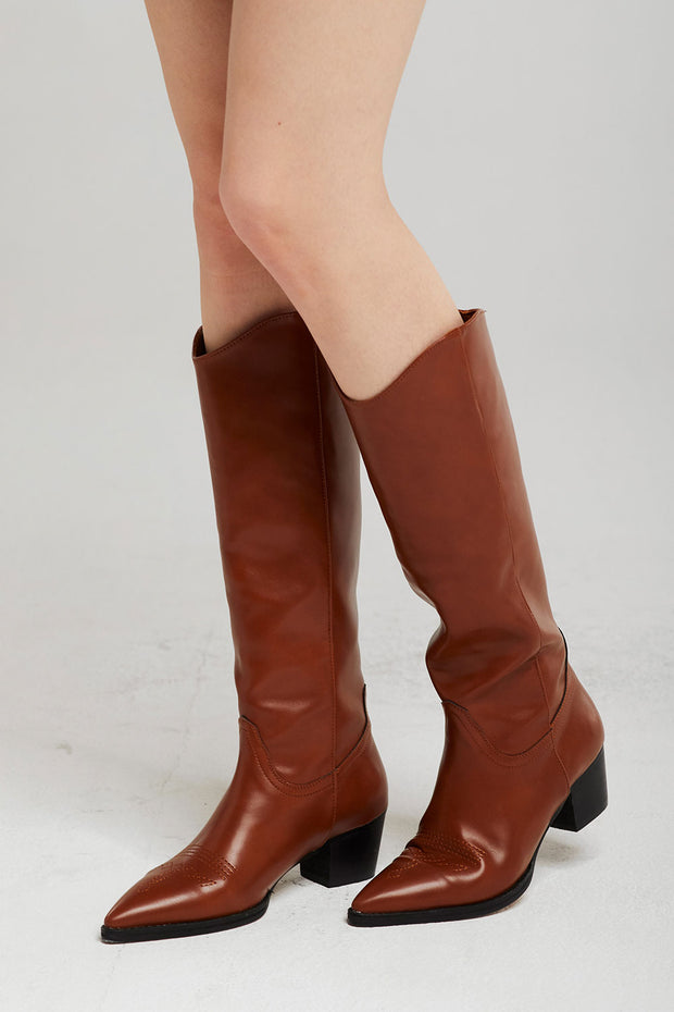 Western Knee Boots