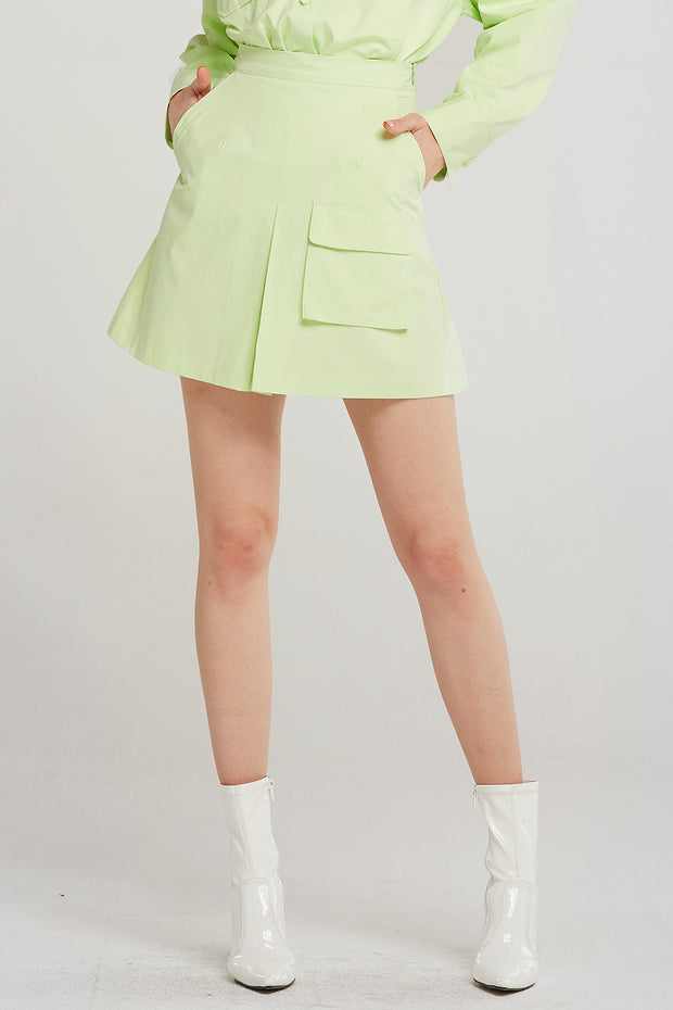 Amaya Flap Pocket Skirt