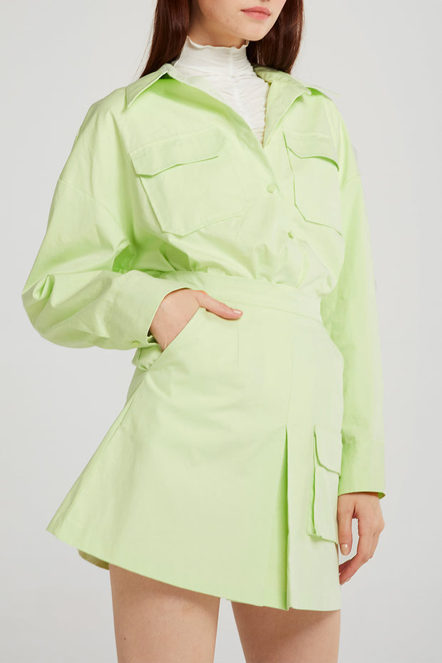 Amaya Flap Pocket Shirt
