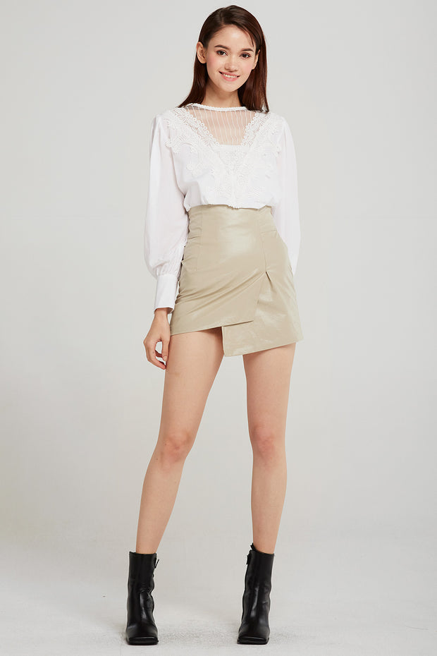 Sadie Asymmetric Wrapped Skirt